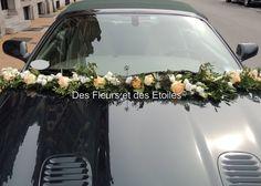 DECORATION VOITURE MARIAGE GUIRLANDE DE FLEURS | Des Fleurs et des Etoiles