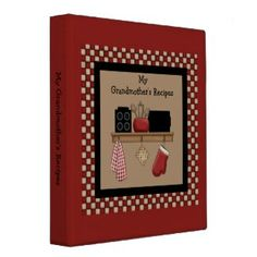 Country Recipe Binder $20.95
