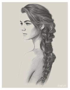 Photorealistic Pencil Portraits by Kei Meguro   The Dancing Rest