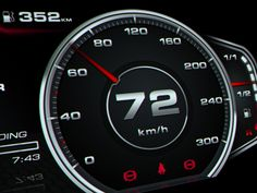 Audi R8 Digital Speedometer Concept on Behance