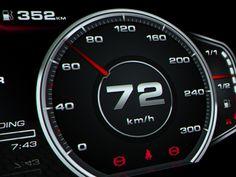 Audi R8 Digital Speedometer Concept on Behance