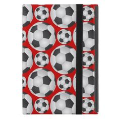 Soccer Ball Pattern Case For iPad Mini by @andersondesigns #soccer