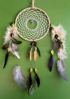 Dream Catcher Woodland Fairy Garden Fairy by TheModernDreamer