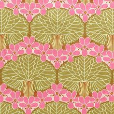 AMY BUTLER Fabric ~ Midwest Modern Nouveau Trees Moss by fabric4you, $4.95