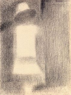 Seurat, Child in White, (study for La Grande Jatte)