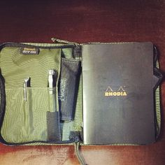 Rhodia Notebook in Maxpedition
