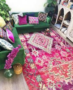 16 fabulous colorful bohemian living room decorating ideas 43 - Home Decor Colourful Living Room, Boho Living Room, Bohemian Living, Living Room Decor, Bedroom Decor, Room Colors, House Colors, Eclectic Decor, Living Room Inspiration