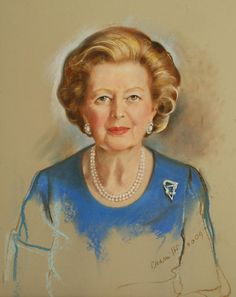 Margaret Thatcher - 1st & only female prime minister in Britain's history.   Born October 13, 1925 - Died April 8, 2013