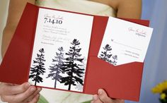 Exotic Wedding, Woodsy Wedding, Tree Wedding, Wedding In The Woods, Forest Wedding, Fall Wedding, Whimsical Wedding, Save The Date Invitations, Wedding Invitations