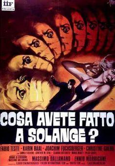 El señor de los bloguiños: ¿Qué habéis hecho con Solange? (1972) de Massimo D...