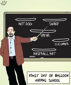 balloon animal school