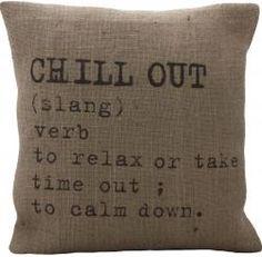 Chill pillow