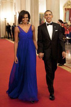 Jason Wu Dress - February 29, 2012 I love the first lady's dress. she looks beautiful.