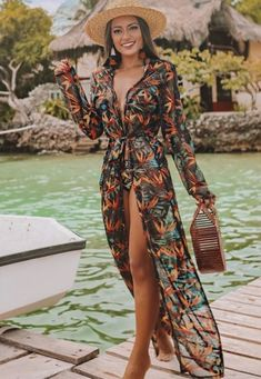 50 Gorgeous Beach Outfits On a Tropical Island For Your Winter Holiday – Page 25 of 50 – Cute Hostess – Christmas Fashion Trends Summer Outfits, Casual Outfits, Beach Outfits, Cruise Outfits, Beach Wear For Women Outfits, Beach Holiday Outfits, Pool Party Outfits, Mode Outfits, Fashion Outfits