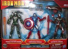 Iron Man 2 Concept Series Advanced Tactical Armor