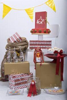 Sinterklaas dessert table