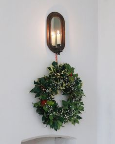 Candle Lamp, Candle Sconces, Victorian Candles, Wall Lights, Babies Breath, Wreaths, Homemade, Mirror, Diy