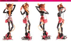 Monster High Toralei Stripe Vinyl Figures