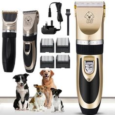 Candora Rechargeable Cat Dog Hair Trimmer Electrical Pet Clipper Cutter Grooming Machine *** Thank you for seeing our image. (This is our affiliate link) Trim Cat Nails, Dog Pee Pads, Dog Clippers, Animal Room, Cat Dog, Pet Life, Cat Grooming, Training Your Dog, Dog Supplies