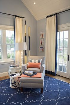 curtains and rug. My visit to the HGTV Dream Home 2015 on Martha's Vineyard - Cuckoo4Design