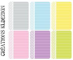"""encore quelques """"basiques"""" dont on a toujours besoin : leur design comme leurs couleurs s'adapteront sans problème à de nombreuses créations !..."""