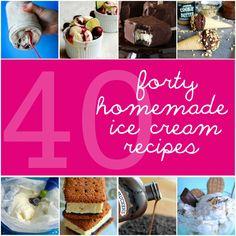 40 Homemade Ice Cream Recipes - Something Swanky
