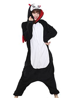 Tonwhar Kigurumi Onesie Pajamas Halloween costumes Devil LHeight165cm173cm *** Want additional info? Click on the image-affiliate link. #Onesies