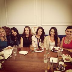 The girls of Studio Dental enjoying lunch