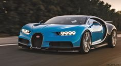 Bugatti has developed an adaptive chassis for the Chiron. Description from car-revs-daily.com. I searched for this on bing.com/images