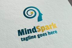 MindSpark Logo Template by It's a Small World on @creativemarket