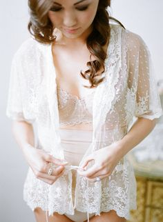 cc7b9c0fca 25 Bridal Boudoir Photos That Are As Sultry As They Are Sweet