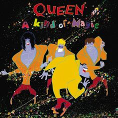 Queen A Kind Of Magic on 180g LP Sourced from the Original Master Tapes, Mastered By Bob Ludwig, Cut at Half-Speed at Abbey Road Studios, and Pressed at Optimal in Germany Queen's twelfth studio album