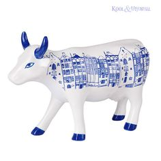 Beautiful AMSTERDAM CowParade CERAMIC Figurine Cow Parade | eBay