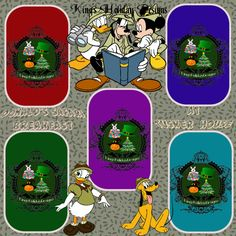 Tusker House Donald Safari character meal 8 x 8 quick page by KingsHolidayDesign on Etsy