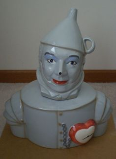 Wizard of Oz Tin Man Limited Edition of 1939 Cookie Jar made in Mexico by Star Jars/Treasure Craft