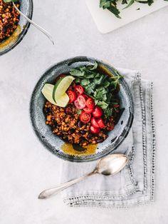 chili végé à la protéine végétale texturée (à la mijoteuse). - Science & Fourchette
