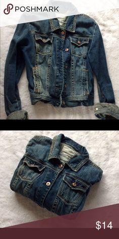 AEROPOSTALE Denim Jacket Excellent used condition.  WOMEN'S (L) Aeropostale Jackets & Coats