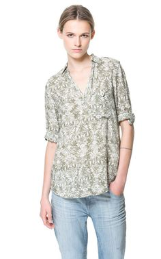 Vintage Floral Prints Casual Shirts-$12.90FREE SHIPPING