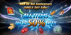 All Items are up to 50% off in today's one day sale! What items will you snag?