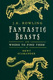 Fantastic Beasts and Where to Find Them   http://paperloveanddreams.com/book/1159386652/fantastic-beasts-and-where-to-find-them   A set textbook at Hogwarts School of Witchcraft and Wizardry since publication, Newt Scamander's masterpiece has entertained wizarding families through the generations.Fantastic Beasts and Where to Find Them is an indispensable introduction to the magical beasts of the wizarding world. Scamander's years of travel and research have created a tome of unparalleled…