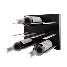 STACT wine rack storage wall panel hanging installation DIY easy install gift ideas modular made in Canada Ramsin Khachi hooks wine collection decor designer Wine Bottle Storage, Wine Rack Wall, Wine Racks, Wine Display, Wine Collection, Italian Wine, Polished Concrete, Wall Brackets, Just For You