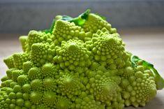 Romanesco Broccoli has a natural fractal shape.