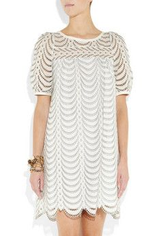 edith broderie anglaise cotton dress marc by marc jacobs