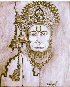 Hanuman Hd Wallpaper, Lord Hanuman Wallpapers, Shri Hanuman, Krishna, Barbie Drawing, Ram Image, Hanuman Images, Lord Shiva Family, Ganesha Painting