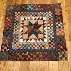 You all know I love scrappy quilts and reproduction fabrics, another finish – 2019 - Quilt Decor Flag Quilt, Star Quilts, Scrappy Quilts, Mini Quilts, Quilt Blocks, Primitive Quilts, Antique Quilts, Vintage Quilts, Small Quilt Projects