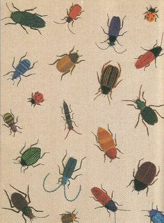 From: The Stumpwork Goldwork and Surface Embroidery Beetle Collection by Jane Nicholas (2004, Milner Craft Series).