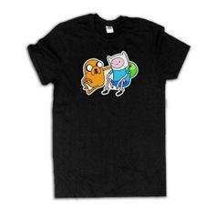 Adventure Time Tshirt #adventuretime #finnandjake www.etsy.com/listing/160273479/adventure-time-shirt-finn-and-jake
