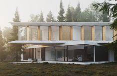 Modern House Modern Architects, Architecture Details, Minimalism, Outdoor Decor, House, Instagram, Design, Home Decor, Videos