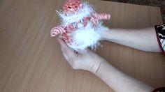 Дед Мороз плетение из газет