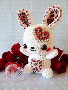 valentines-day-rabbit-amigurumi-56 by janama315, via Flickr